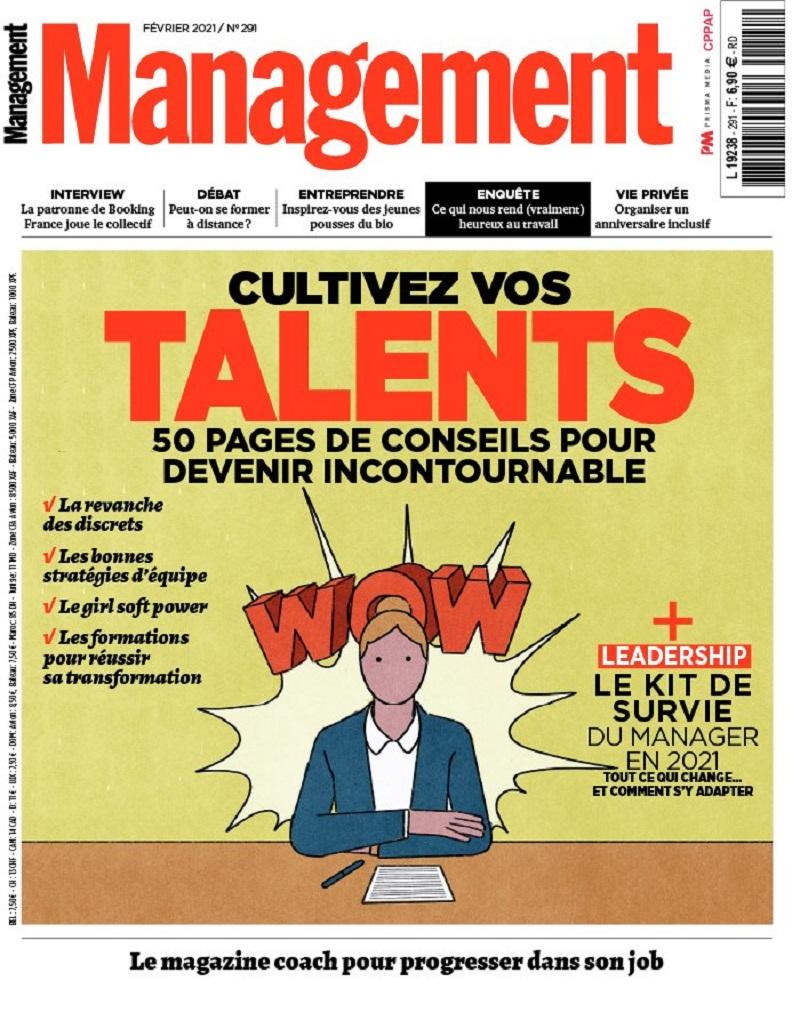 Image - Magazine Management - Numéro de février 2021