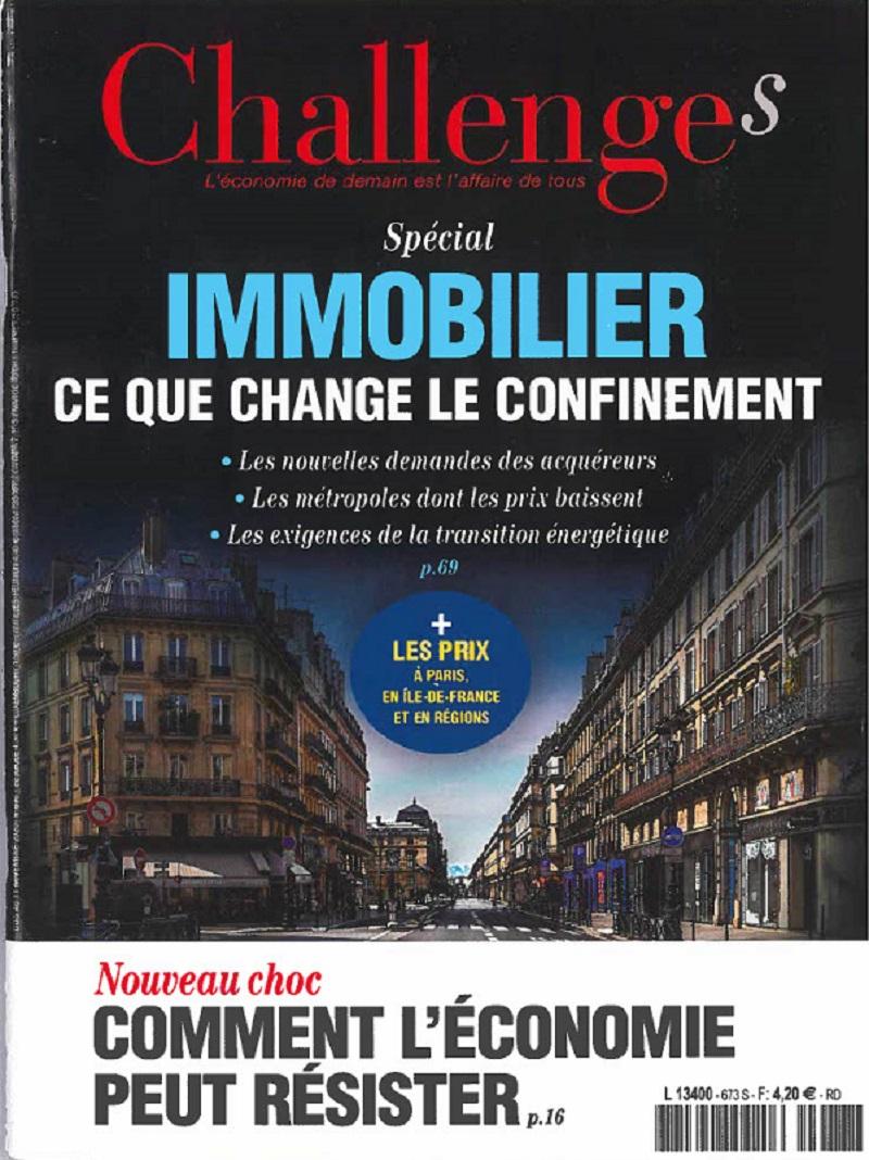 Image - Magazine Challenges - Numéro de novembre 2020