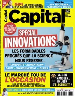 Image miniature - Magazine Capital - Numéro de janvier 2021