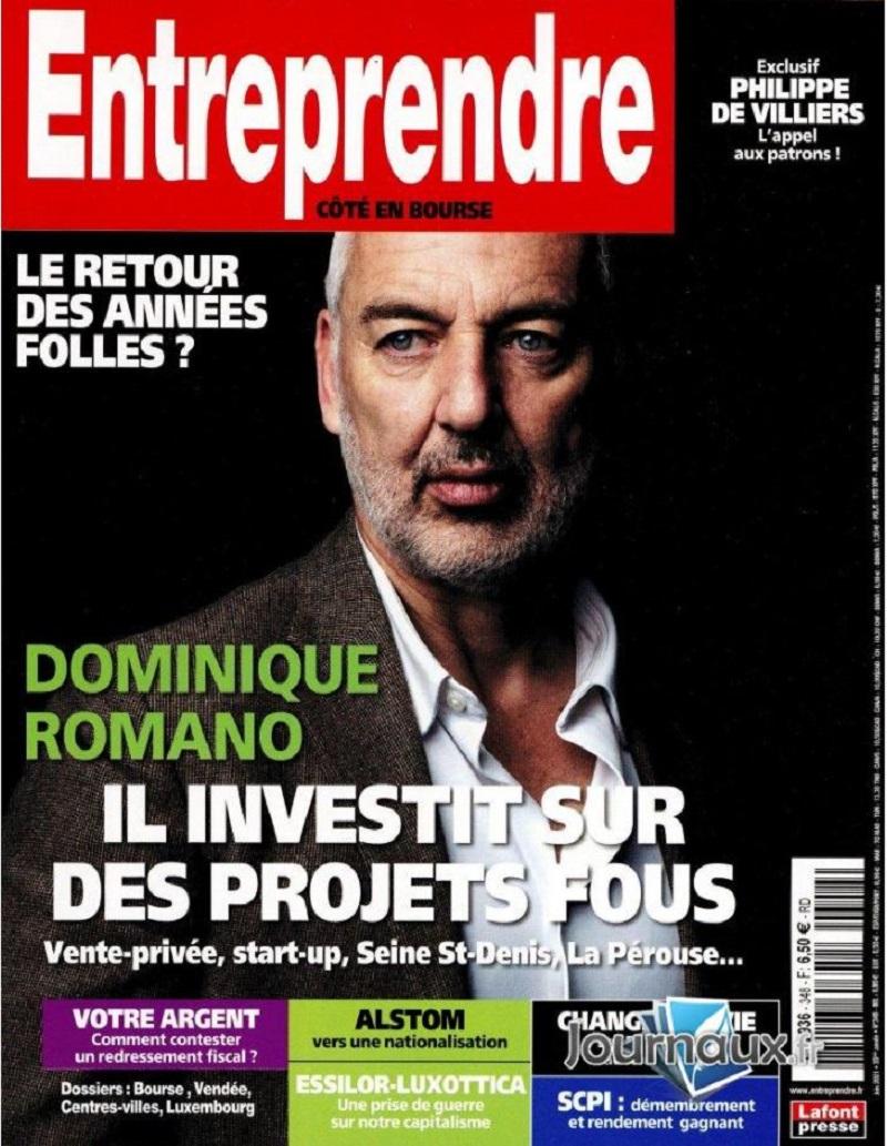 Image - Magazine Entreprendre - Numéro de juin 2021